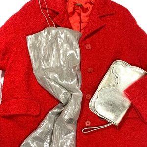 Metallic Slip Dress by Teri Jon Size 12